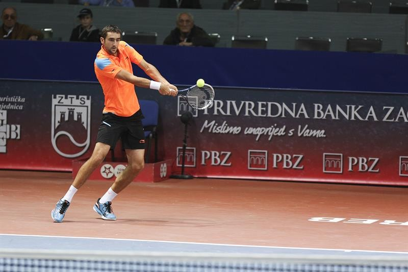 Cilic did not drop serve, Becker saved seven match points Zagreb Indoors