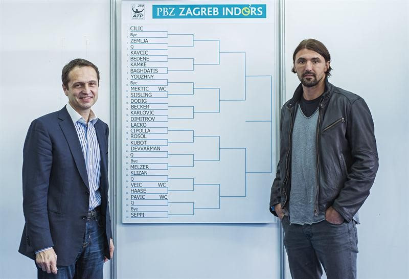 Karlovic draws Dimitrov in first round Zagreb Indoors